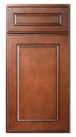 Kitchen Cabinets or Bathroom Vanities York Series in Chocolate Brown