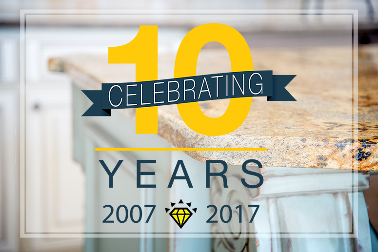 East Coast Granite & Tile Anniversary Image