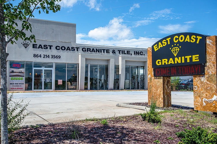 East Coast Granite & Tile Laurens Road, Greenville, SC Showroom