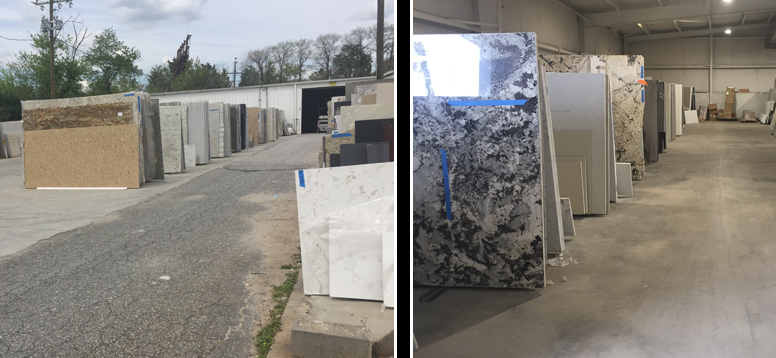 Large Slab Inventory at East Coast Granite