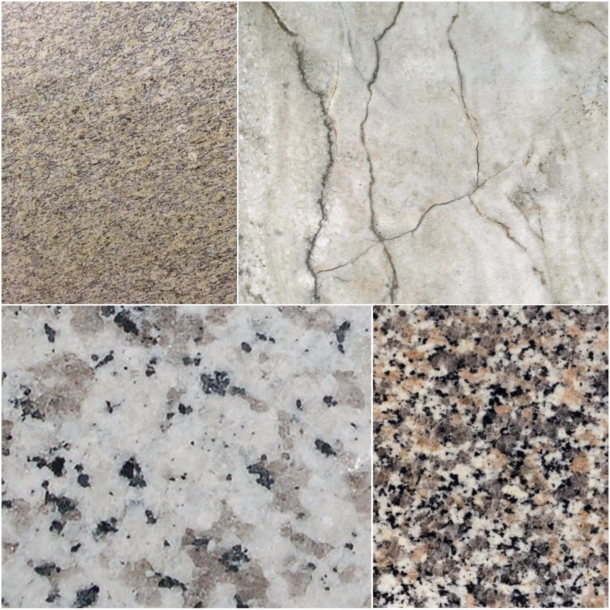Mosaic of Level One Granites