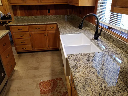 St. Cecelia Granite Kitchen Countertops